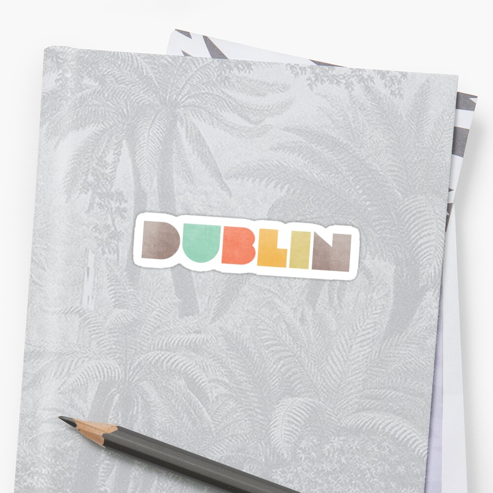 Dublin Vintage Sticker