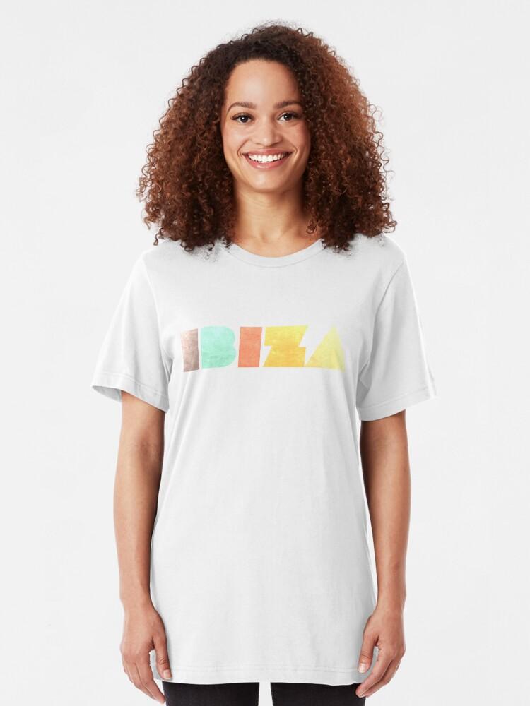 Alternate view of Ibiza Vintage Slim Fit T-Shirt
