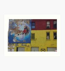 No, This Is Not Wall Street Art Print
