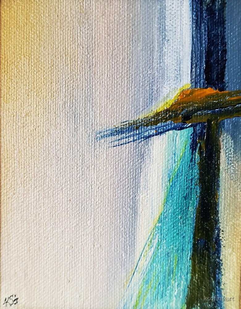 Color Me blue by ksgfineart