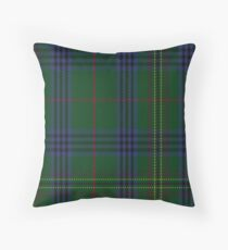 00032 Kennedy Clan Tartan  Throw Pillow