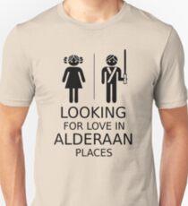 Auf der Suche nach Liebe in Alderaan Orten Slim Fit T-Shirt