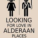 Auf der Suche nach Liebe in Alderaan Orten von Achilleus