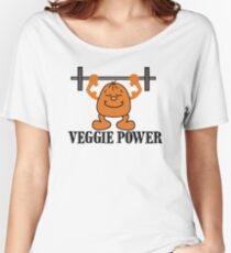 Veggie Power Women's Relaxed Fit T-Shirt