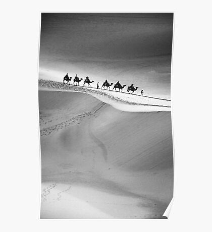 Dunes of Dunhuang Poster