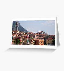 Varenna, Italia Greeting Card