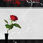 Valentine Rose by Maria Dryfhout