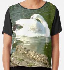 Merch #46 -- Swan - Shot 4 Chiffon Top