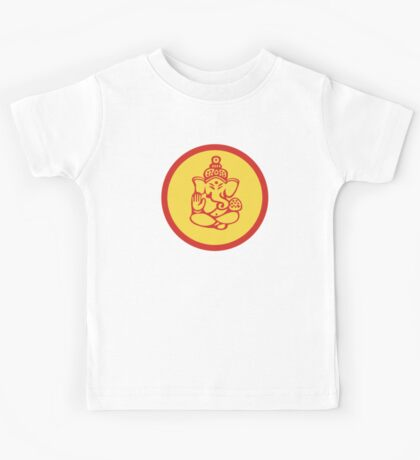 Hindu, Hinduism Ganesh T-Shirt Kids Clothes