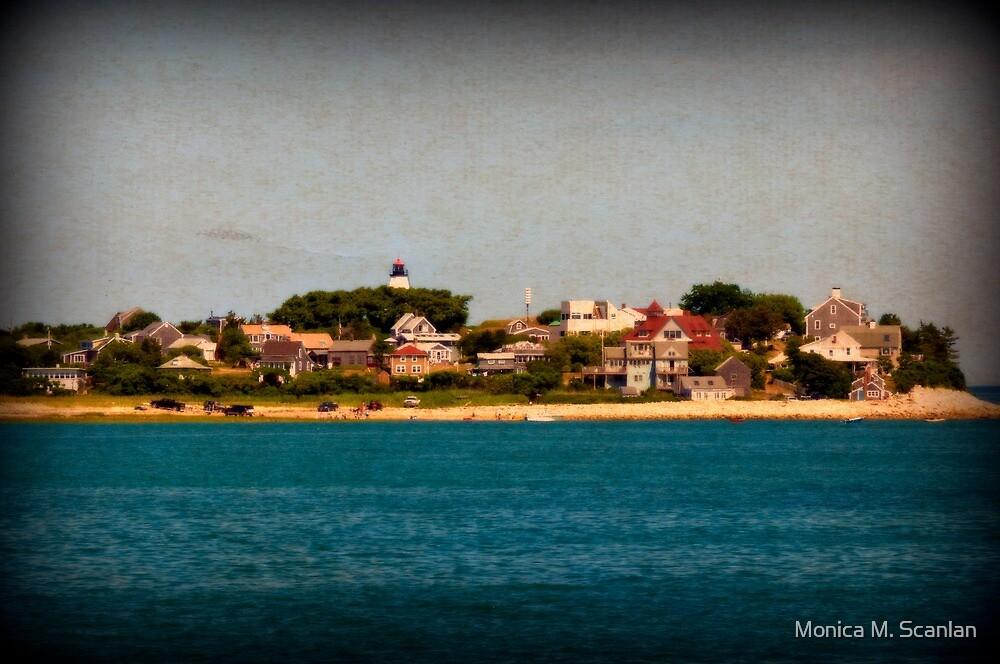 Gurnet Lighthouse by Monica M. Scanlan