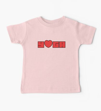 I Love Yoga Kids Clothes