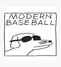 modern baseball dog Photographic Print