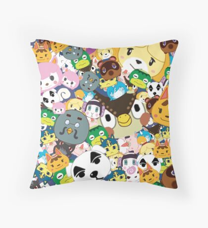 How To Make Pillows In Animal Crossing New Leaf : Animal Crossing New Leaf: Throw Pillows Redbubble