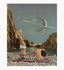 Serenade zu Saturn Fotodruck