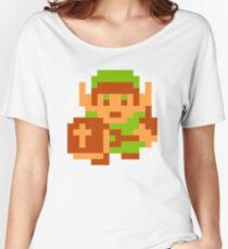 8-Bit Legend Of Zelda Link Nintendo Women's Relaxed Fit T-Shirt