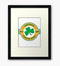 Chicago Northside Irish Framed Print