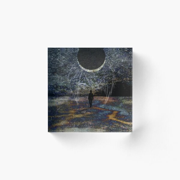 State of Dreams (Waxing Crescent) Acrylic Block