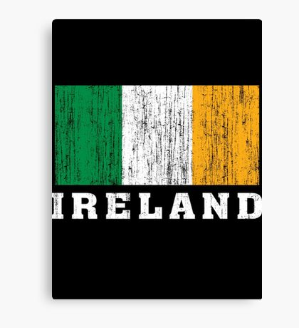 Ireland Flag Canvas Print
