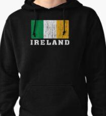 Ireland Flag Pullover Hoodie