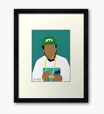 Curren$y Framed Print