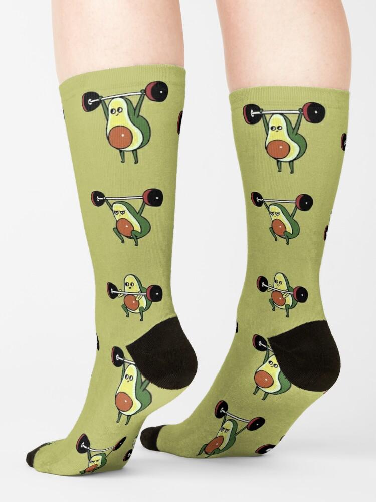 Alternate view of OLYMPIC LIFTING Avocado Socks