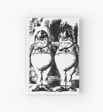 Tweedledum & Tweedledee Hardcover Journal