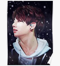 Snowy Jungkook Poster