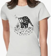 Spotted Tail Quoll- Dasyurus maculatus Women's Fitted T-Shirt