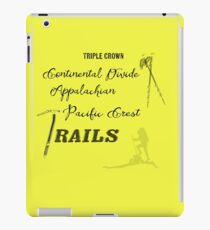 Triple Crown Of Hiking iPad Case/Skin