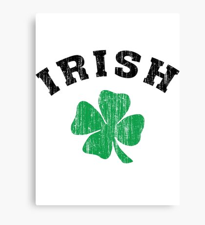 Irish Shamrock Canvas Print