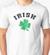 Camiseta ajustada Shamrock irlandés