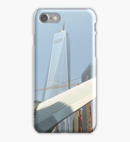 World Trade Center Transit Hub, Santiago Calatrava, Architect, World Trade Center, Lower Manhattan, New York City iPhone Case/Skin