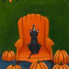 Halloween Party Waiting for Guests by Ryan Conners