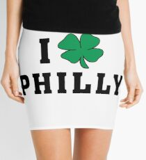 I Love (Shamrock) Philly Mini Skirt