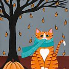Autumn Ginger Kitty by Ryan Conners