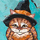 The Little Tabby Witch  by Ryan Conners