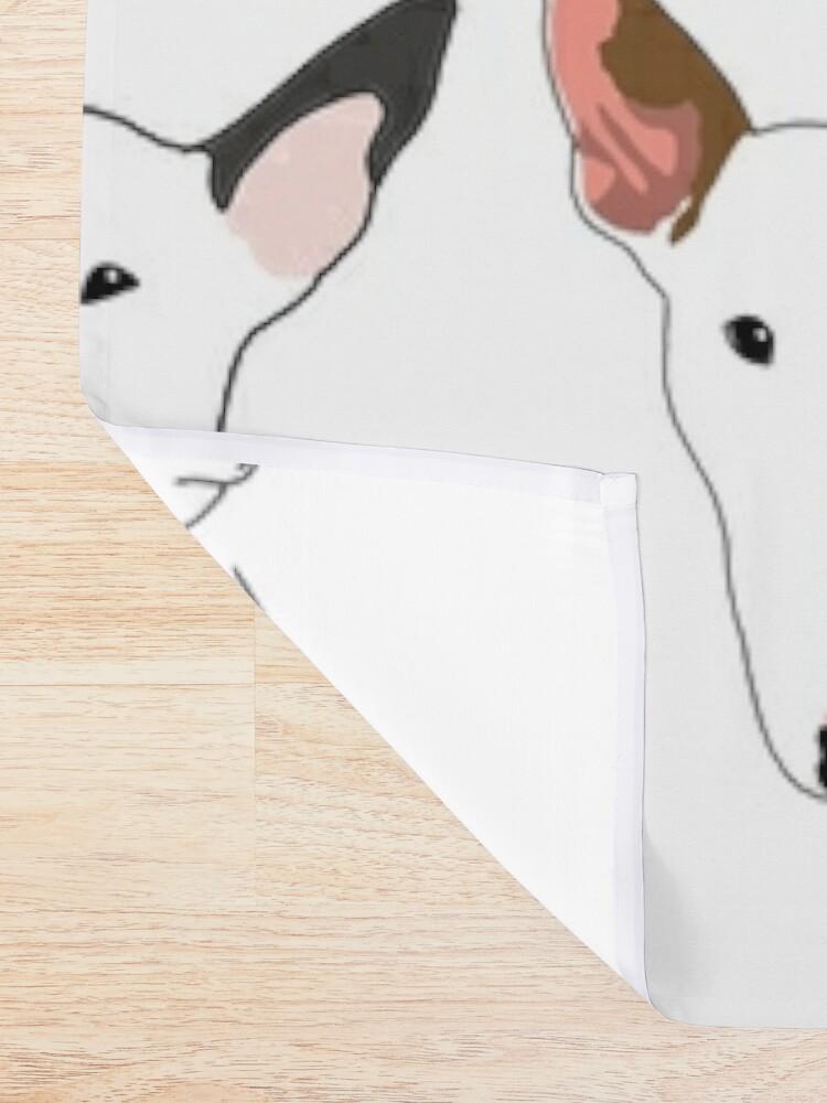 Alternate view of Glasgow Bull Terrier Club Shower Curtain