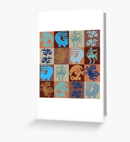 Inca Birds Greeting Card