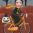 An Autumn Bicycle Ride With Friends by Ryan Conners