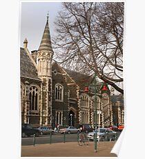 Christchurch pre-earthquake Poster