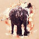 « Éléphant » par Chrystelle Hubert