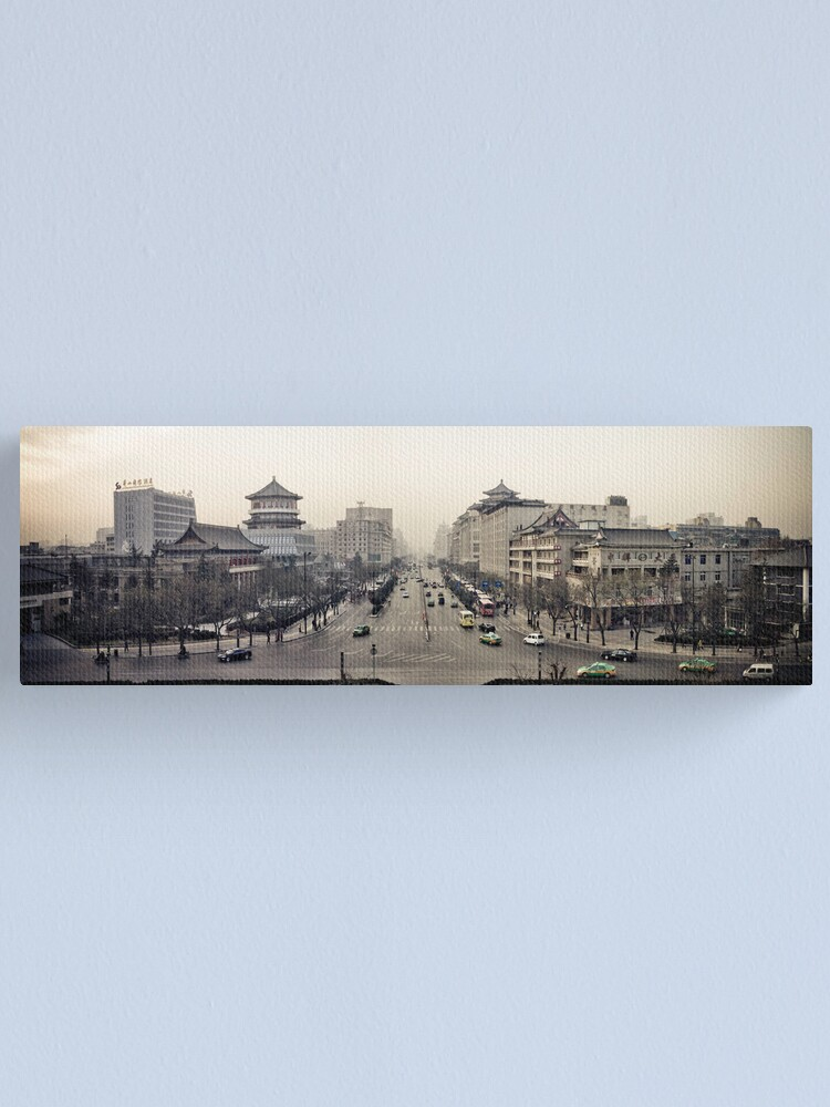 Alternate view of Xi'an Canvas Print