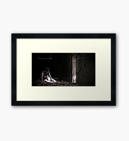 Sinnlos (Senseless) Framed Print