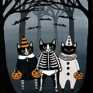 Halloween Trick or Treaters by Ryan Conners