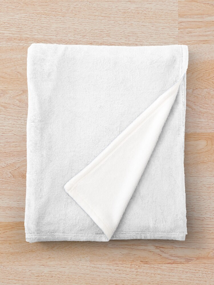 Alternate view of CL4P-TR4P Throw Blanket