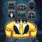 The Twin Tuxedo Room by Ryan Conners