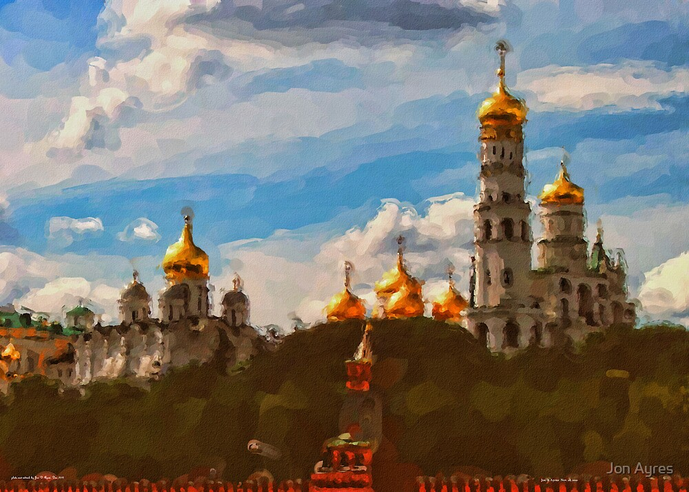 Ivan the Great Bell Tower by Jon Ayres