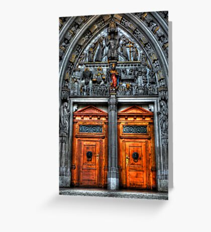 Sanctum's Threshold Greeting Card