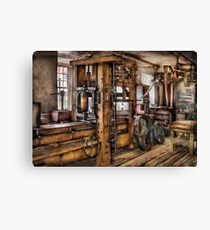 Steam Punk - The Press Canvas Print
