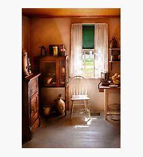Chef - A cottage kitchen  Photographic Print